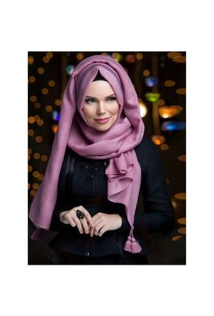 Queen Püsküllü Şal - Pembe İ·Nci· - Muslima Wear