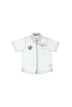 Modakids Nanica Erkek Çocuk Kısa Kol Gömlek (4-8 Yaş) 0015063027