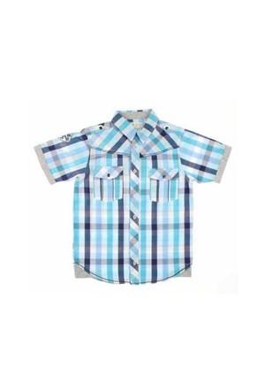Modakids Nanica Erkek Çocuk Ekoseli Kısa Kol Gömlek (9-14 Yaş) 0015147015