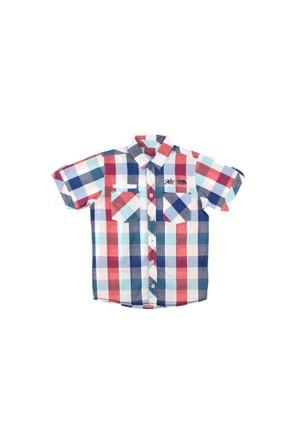 Modakids Nanica Erkek Çocuk Ekoseli Kısa Kol Gömlek (9-14 Yaş) 0015148012
