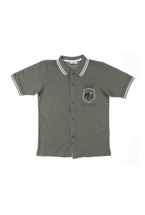 Modakids Nanica Erkek Çocuk Lacos Kısa Kol Gömlek (10-14 Yaş) 0014490008