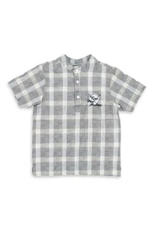 Modakids Nanica Erkek Çocuk Kısa Kol Gömlek (4-8 Yaş) 001-4904-030