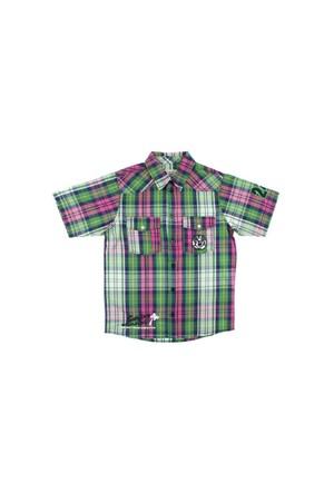 Modakids Nanica Erkek Çocuk Ekose Kısa Kol Gömlek (9-14 Yaş) 0014978027