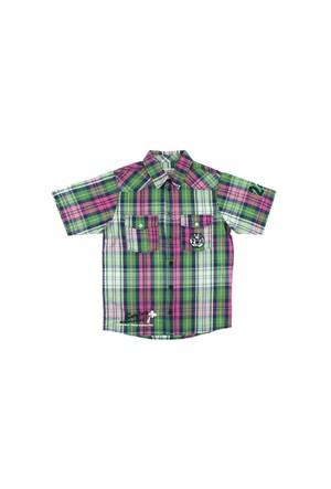 Modakids Nanica Erkek Çocuk Ekose Kısa Kol Gömlek (4-8 Yaş) 0014979017