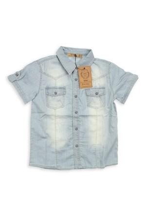 Modakids Bluekey Erkek Çocuk Kot Gömlek (3-14 Yaş) 031-187-014