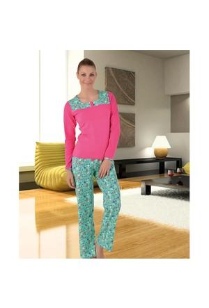 Gümüş Bayan Pijama Takım 1327