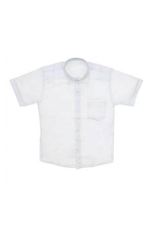 Modakids 23 Nisan Erkek Çocuk Beyaz Gömlek 037-52347-027
