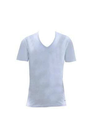 Blackspade Tender Cotton Erkek V-Yaka T-Shirt 9239 Beyaz