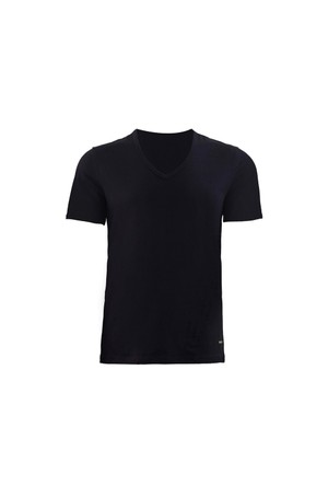 Blackspade Tender Cotton Erkek V-Yaka T-Shirt 9239 Siyah
