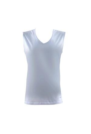 Blackspade Comfort Erkek V-Yaka Shirt 9215 Beyaz