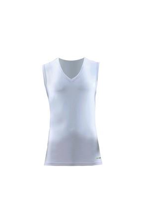 Blackspade Tender Cotton Erkek V-Yaka T-Shirt 9231 Beyaz
