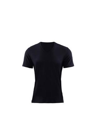 Blackspade Aura Erkek V-Yaka T-Shirt 9508 Siyah