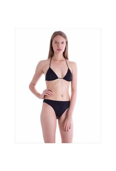 Ayyıldız Ff0001 Siyah Düz Renk Bikini