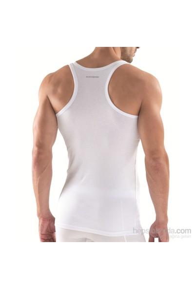 Blackspade Double Rib Erkek Spor Atlet 9340 Beyaz