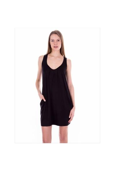 Ayyıldız 59430 Siyah Penye Elbise