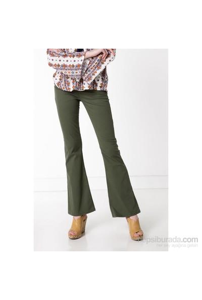 DeFacto Yüksek Bel İspanyol Paça Pantolon
