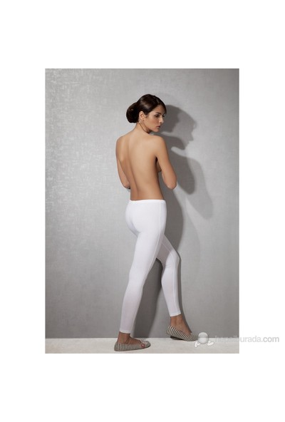 Doreanse Beyaz Kadın Tayt 8012