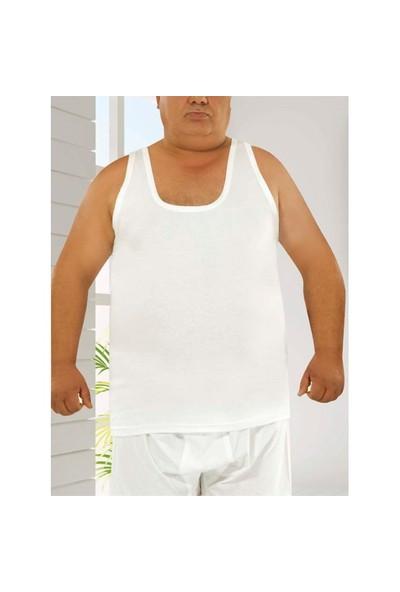 Tutku 6'Lı Paket Klasik Erkek Atlet Beyaz