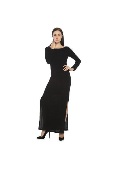 Karahasans Simli Siyah Elbise