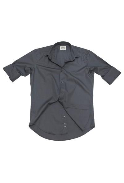 Hombers Düz Renk Slim Fit Takım Elbise
