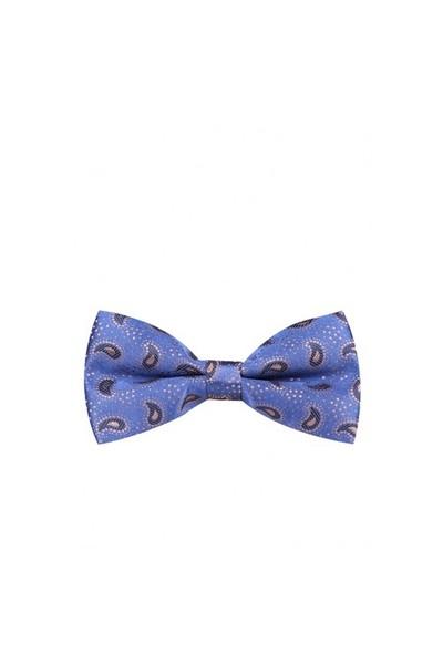 La Pescara Şal Desen Mavi Papyon P216