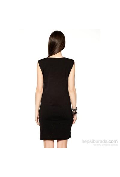 Markaport Elbise Siyah