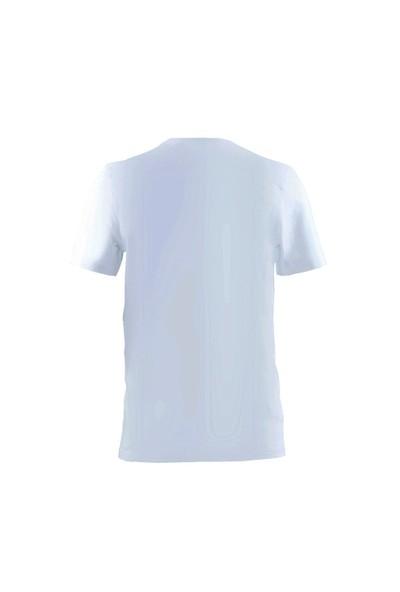Blackspade Loose Fit Erkek V-Yaka T-Shirt 9240 Beyaz
