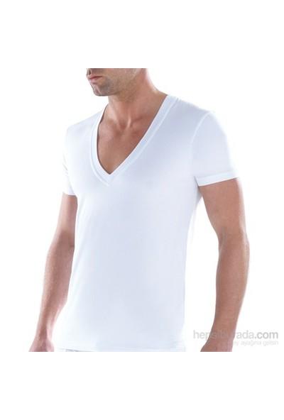 Blackspade Tender Cotton Erkek Derin V-Yaka Kolsuz T-Shirt 9212