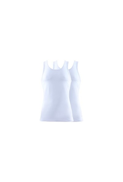 Blackspade Tender Cotton Erkek Atlet 2li Paket 9678 Beyaz