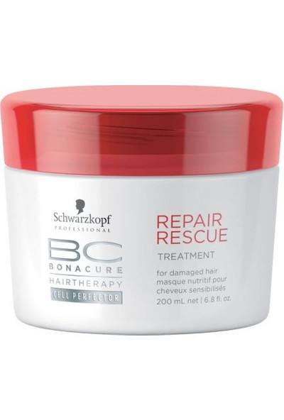 Schwarzkopf Bonacure Repair Acil Kurtarma Derin Besleyici Kür 200Ml