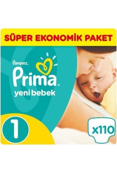 Prima Aktif Bebek Yenidoğan Süper Ekonomik Bebek Bezi No:1 111 Adet