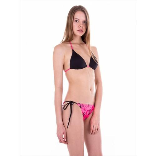 Ayyıldız Pembe Desenli Bikini