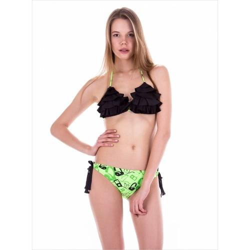 Ayyıldız 20560 Yeşil Desenli Bikini