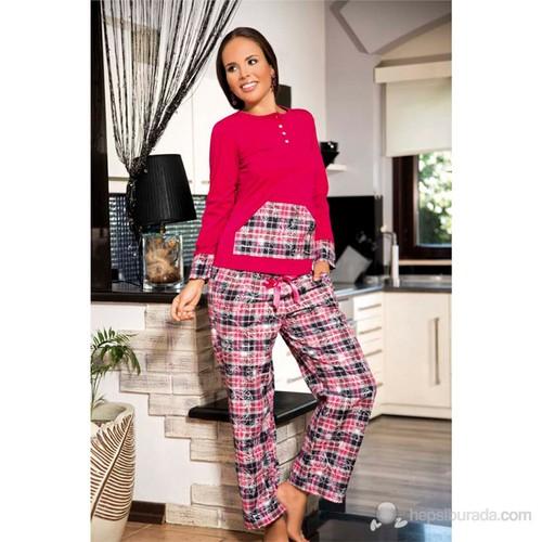 Shirly Desenli Pijama Takım