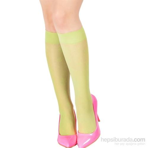Pierre Cardin Desenli Dizaltı Çorap Royale Açık Yeşil