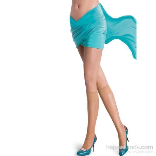 Pierre Cardin Yarı Parlak İnce Burunsuz Dizaltı Çorap İsis Kadın Ten
