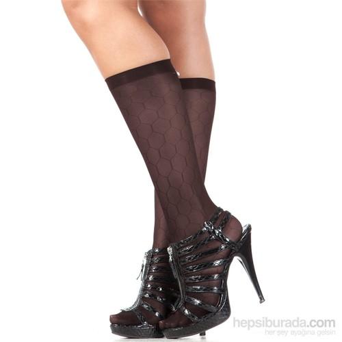 Pierre Cardin Desenli Dizaltı Çorap Arielle Kestane