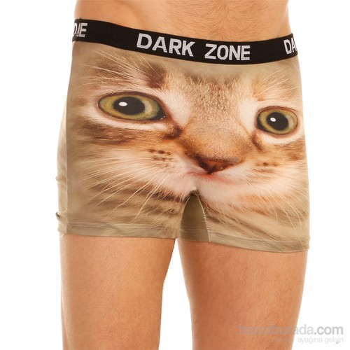 Darkzone 3D Boxer Kedi