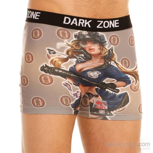 Darkzone 3D Boxer Polis Kız