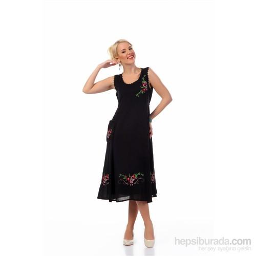 Eliş Şile Bezi Burçak Elbise