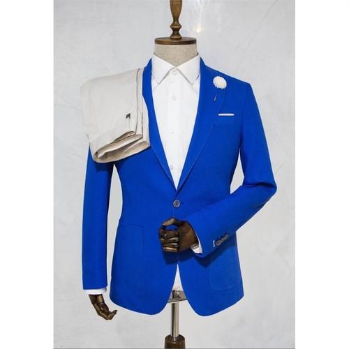 Victor Baron Yeni Sezon Mavi Slim Fit Takım Elbise
