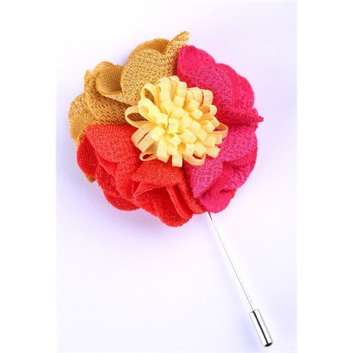 La Pescara Çok Renkli Tasarım Yaka Çiçeği Yc0080