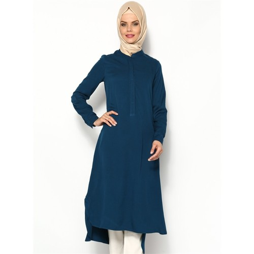 Belmando Uzun Tunik - Petrol - Cml Collection
