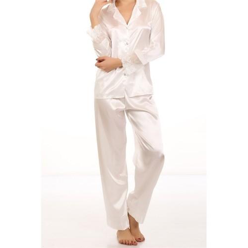 Nurteks Bayan Saten Pijama Takım