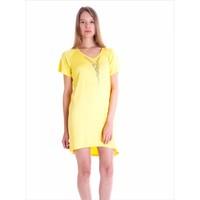 Ayyıldız 59480 Sarı Penye Elbise