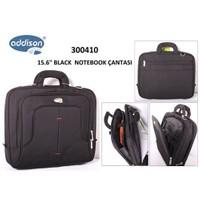Addison 300410 15.6` Siyah Bilgisayar Notebook Çantası