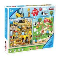 Pilsan Puzzle 2x42 (84 Parça)