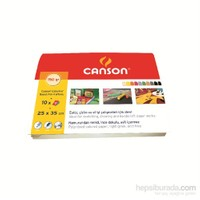 Canson Colorline Dosyalı Fon Kartonu 10 Yp eol
