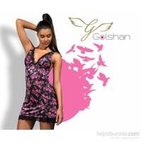 Golshan Gardenia Night Dress Elbise