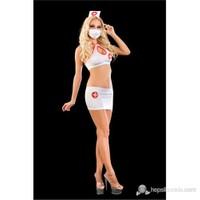 La Blinque Seksi Hemşire Kostüm